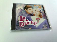 "ORIGINAL SOUNDTRACK ""LA DUEÑA"" CD 8 TRACKS NANCY TORO BANDA SONORA BSO OST"