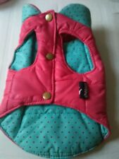 DOG COAT IN PINK AND BLUE