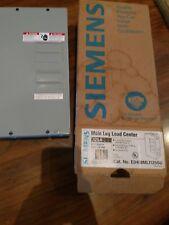 Siemens Main Lug Load Center 125A 4 Spaces 8 Circuits 129/240V AC