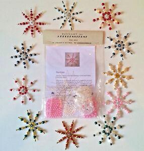 versch. Perlensterne  Bastelset - Auswahl - Perlen Sterne Drahtsterne  Schmuck