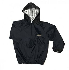 americaya Sauna suit Long sleeve with hood fighter specifications Black gold