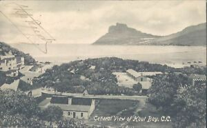 SOUTH AFRICA Cape Town general view of Hout Bay 1913 PC