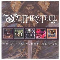 JETHRO TULL - ORIGINAL ALBUM SERIES 5 CD  48 TRACKS ROCK  NEU