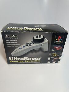 Ultra Racer Steering Controller for Playstation by Interact P-1124