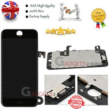 for iPhone 7 Plus Complete Touch Screen Replacement LCD Digitizer Camera Black