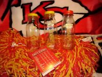 Shatto Milk Bottles WELCOME SUNDAY CHAMPS Mahomes Playoffs SuperBowl KC Chiefs