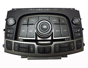 22758483 AC Control Panel Heated Seat Radio Player AM FM MP3 2012 Buick LaCrosse