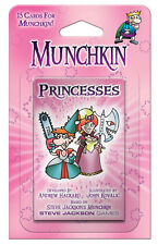 Munchkin Princesses Card Game Expansion Adds 15 Cards Steve Jackson Booster 4243