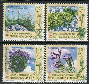 BOSNIA SERBIA(106) - Flora - Flowers - Herbal Species - MNH(**) Set - 2006