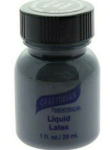 Graftobian Liquid Latex Colored_ 1 oz Special Effects Prosthetic Adhesive_Pick 1