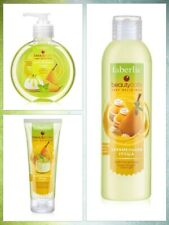 Faberlic Caramelized Pear Set Of Shower Gel, Liquid Hand Wash and Hand cream