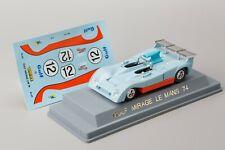 Gulf GR7 Mirage-Ford #12 Schuppan/Wisell DNF LM 1974 VEREM 1:43