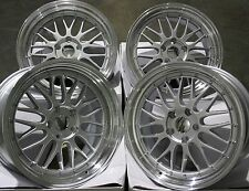 "19"" SILVER DARE LM ALLOY WHEELS FITS JAGUAR XK 1 XK8 XKR XJ X300 XJ40 5X120.65"