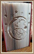 Nighttime Bear  Folded Book Art Folding PATTERN ONLY #3604