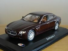 LEO MASERATI QUATTROPORTE V 2003 MAROON CAR MODEL HD47 1:43