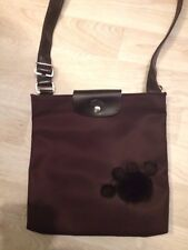 SAC LONGCHAMP PORTE TRAVERS RARE PATTE D'OURS MARRON