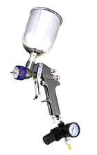 1.3mm HVLP Air Paint Spray Gun w/ Gauge Auto Painting Gravity Feed Tools