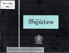 Ford Squire Estate 100E 1955-56 UK Market Sales Brochure Anglia Prefect