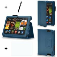 Custodie e copritastiera blu in pelle per tablet ed eBook iPad 2