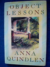 Object Lessons by Anna Quindlen (1991, Hardcover) 1st Edition