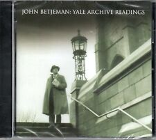 SIR JOHN BETJEMAN - YALE ARCHIVE RECORDINGS