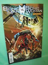 Bionic Man vs Bionic Woman #5 Jonathan Lau 1st Print Comic Dynamite Comics VF