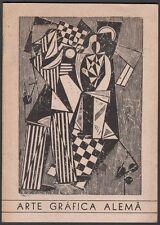 Catalogue. Brésil. Arte Grafica Alema. Heckel, Schmidt-Rottluff, Kokoschka. 1952
