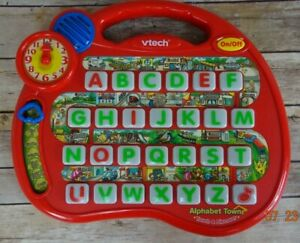 VTech Alphabet Town Touch & Discover 8 Different Educational Activities - WORKS