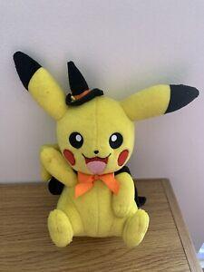 Pokemon Halloween Cosplay Pikachu Plush Witch Costume Tomy Official Plush