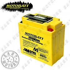 BATTERIA MOTOBATT MB9U HONDA XL R 200 1985>1991