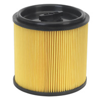 Locking Cartridge Filter for PC200 & PC300 Series SEALEY PC200CFL by Sealey