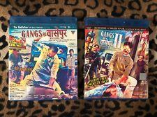 GANGS OF WASSEYPUR 1 & 2 Bollywood Blu Ray Set Lot