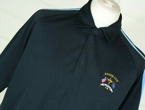 NIKE GOLF Polo Shirt L Blue Ryder Cup Valhalla 2008 FIT-DRI Sport Casual Active