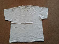 Fruit of the Loom Heavy cotton:weißes T-Shirt XXL