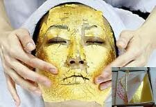 300 sheets 24K 100% Pure Gold Leaf Facial Mask treatment Spa Salon Skin Care
