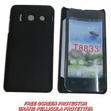 Pellicola + custodia BACK cover NERA per Huawei Ascend Y300
