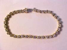 GORGEOUS 18K (12gms) Yellow Gold 36 Diamond 6.5 Cts. TW Tennis Bracelet K390