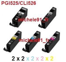 Jeu de cartouches compatibles Canon MG5300 - Série PG525 CL526 PGI525 CLI526