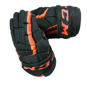 CCM Hockey Senior Tacks 9060  Black/Orange Glove