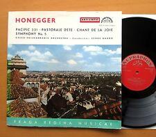 SUA ST 50516 Honegger Pacific 231 etc Serge Baudo NM/EX Supraphon Red Stereo