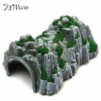DIY Sand Table Model Railway Train Tunnel Cave Model 1:87 Scale Garden Miniature