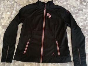 Harley Davidson Women's Pink Label Soft Shell Jacket- Size Medium