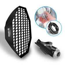 "Phot-R 120cm 48"" Octagon Octabox Umbrella Softbox Elinchrom Flash Honeycomb Grid"