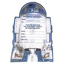 Star Wars R2-d2 Paquet de 20 Enfants Carte D'invitation pour Fête /enfants