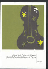 Advertising Postcard - National Youth Orchestra of Wales   B2846