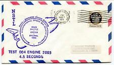 1979 NSTL George Marshall Space Flight Center Rockwell Test 004 Engine 2003 USA