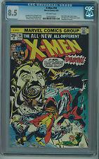 X-MEN #94 CGC 8.5 NEW X-MEN BEGIN OFF-WHITE PAGES BRONZE AGE
