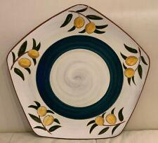 Stangl Pottery Kumquat Pattern Large Hexagon Platter
