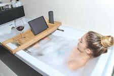 Anaga Adjustable Bamboo Bath Tray Caddy for Tub Spa  Bathtub Table Tray