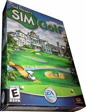 Sim Golf for PC Retail Box Mint in Sealed Box New! MISB!!